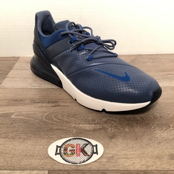 outlet store d4e00 8ae9d Men s Nike Air Max 270 Premium Blue AO8283 400
